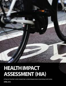 "A health impact assessment (hia) of a proposed ""road diet"" and re-striping project 1"